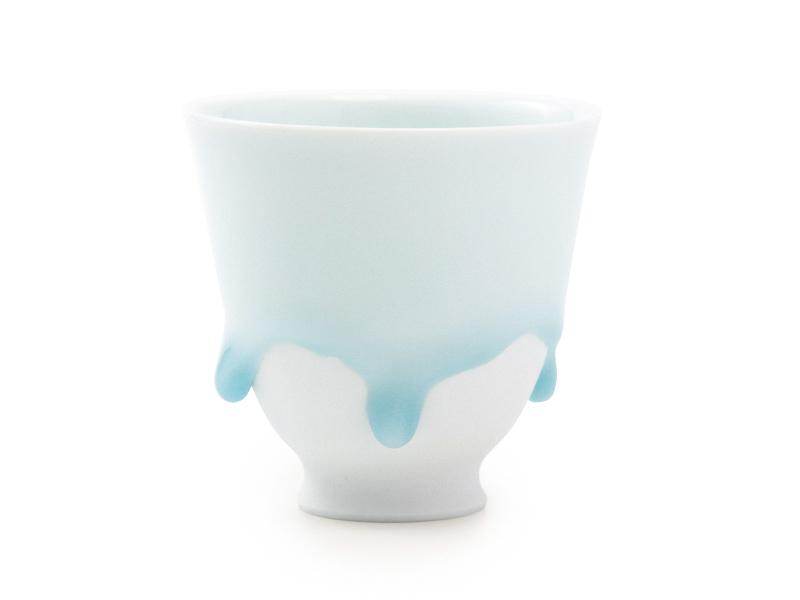 Arita-yaki Shizuku porcelain cup by Nishi Takayuki, 200ml