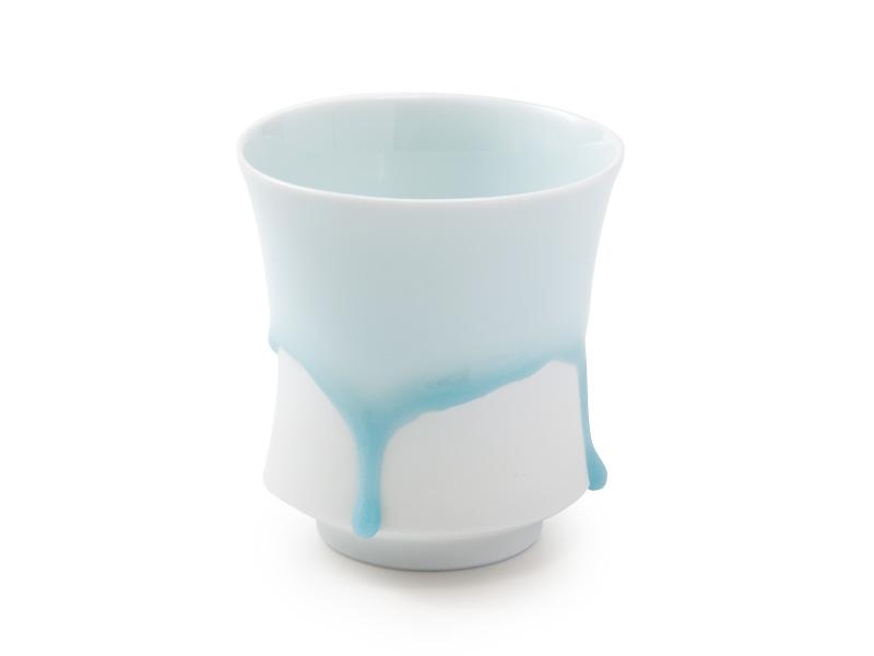 Arita-yaki Shizuku porcelain cup by Nishi Takayuki, 80ml