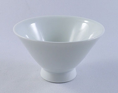 White porcelain cup, 85ml