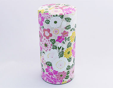 Tea caddy, myriad of flowers, 200 g (7 oz)
