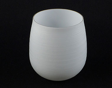 "Arita-yaki ""Egg shell"" porcelain cup from Yamaheigama kiln, 130ml (4.4 oz)"