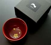 "Little ""four seasons"" cup, sakura, 50 ml (1.7 oz)"