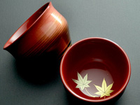 "Little ""four seasons"" cup, momiji, 50 ml (1.7 oz)"