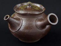 """Yôhen"" kyûsu teapot by Shiraiwa Taisuke, 160 ml (5.4 oz)"