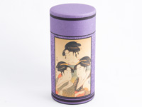 Tea caddy, Beauties of Edo, 200g